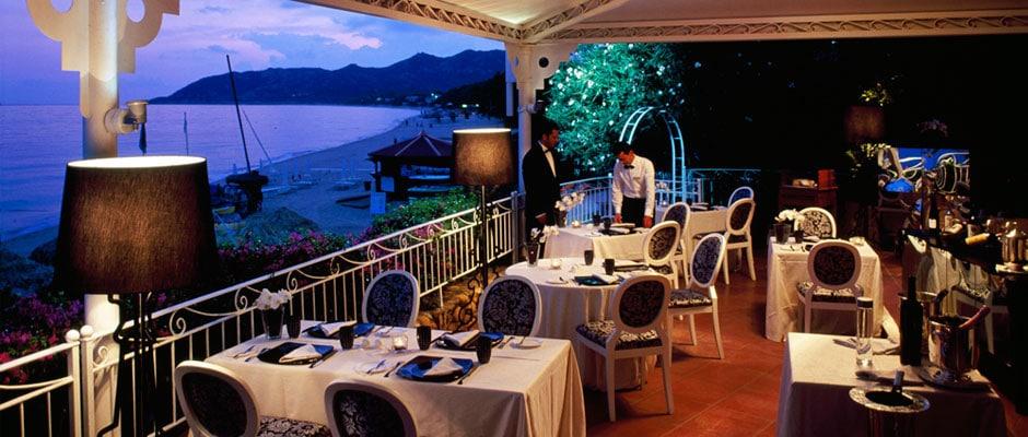 Forte Village Restaurant Sardinia