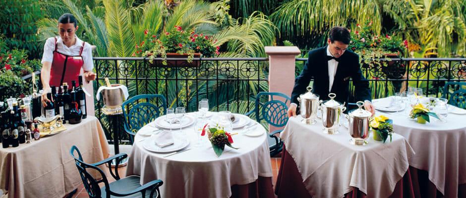 Belvedere Restaurant Forte Village Sardinia
