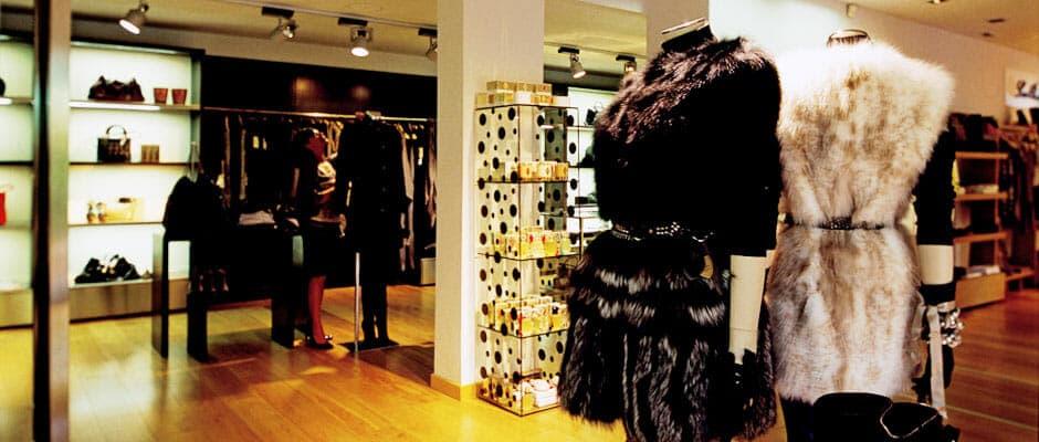 Designer shops Forte village